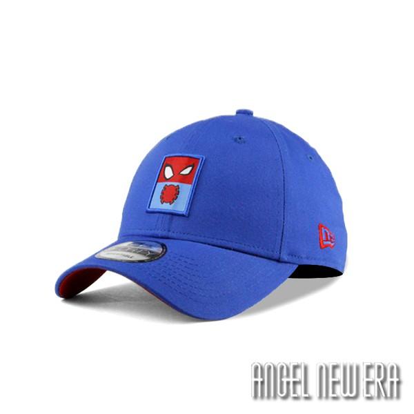 【New Era】童帽 聯名款 超級英雄 蜘蛛人 寶藍色 老帽 9FORTY 潮流【ANGEL NEW ERA】