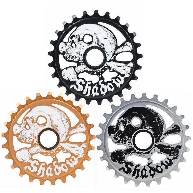 SHADOW CRANIUM SPROCKET 25T 齒盤 啞光銅/黑色/拋光銀 FixedGear 特技腳踏車