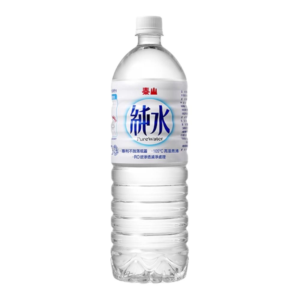 泰山 純水 1500ML 五箱 (共 60瓶/五箱)