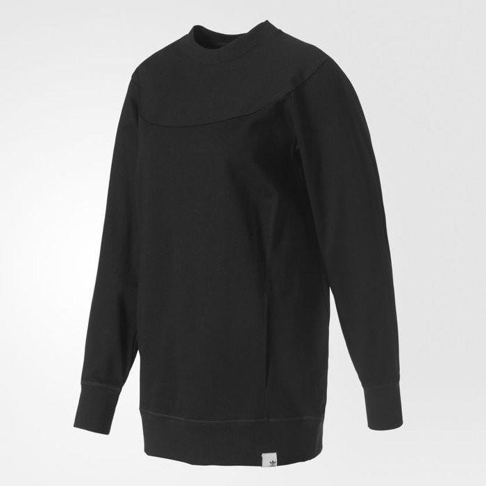 Adidas XBYO Sweatshirt 女裝 長袖 休閒 百搭 大學T 黑【運動世界】BK2301