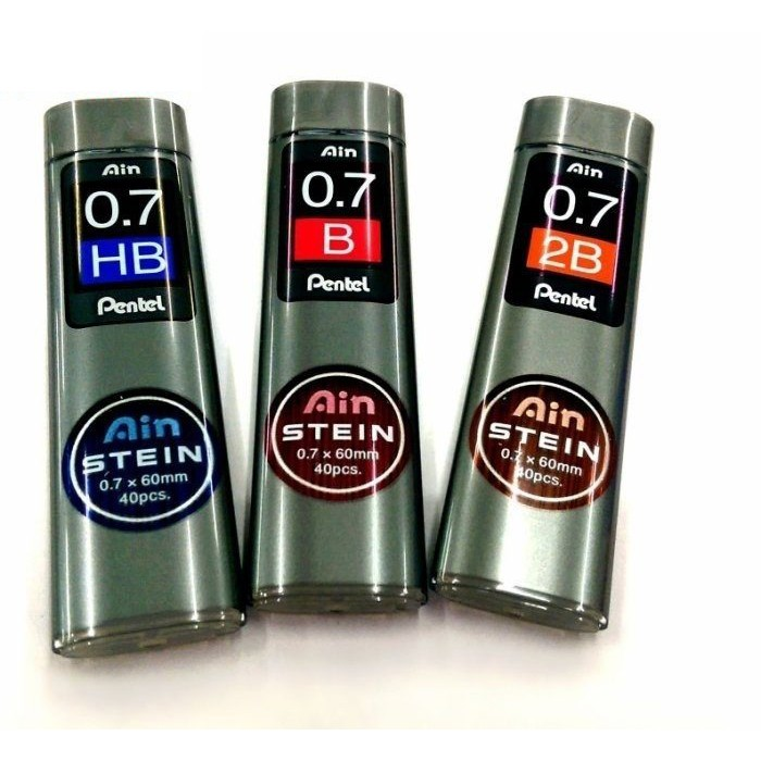 【駿隴】PENTEL C277 Ain STEIN 0.7mm 自動鉛筆芯 2B/HB
