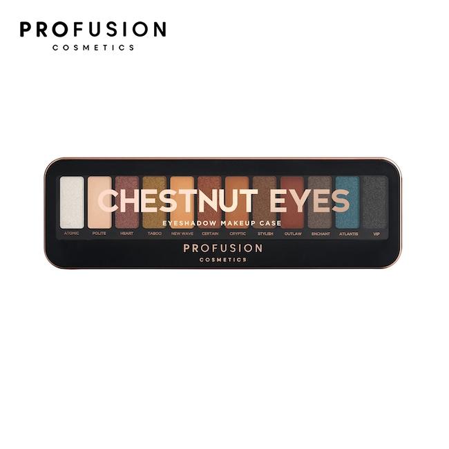 PROFUSION 12色眼影盤-焦糖榛果盤 10.2g
