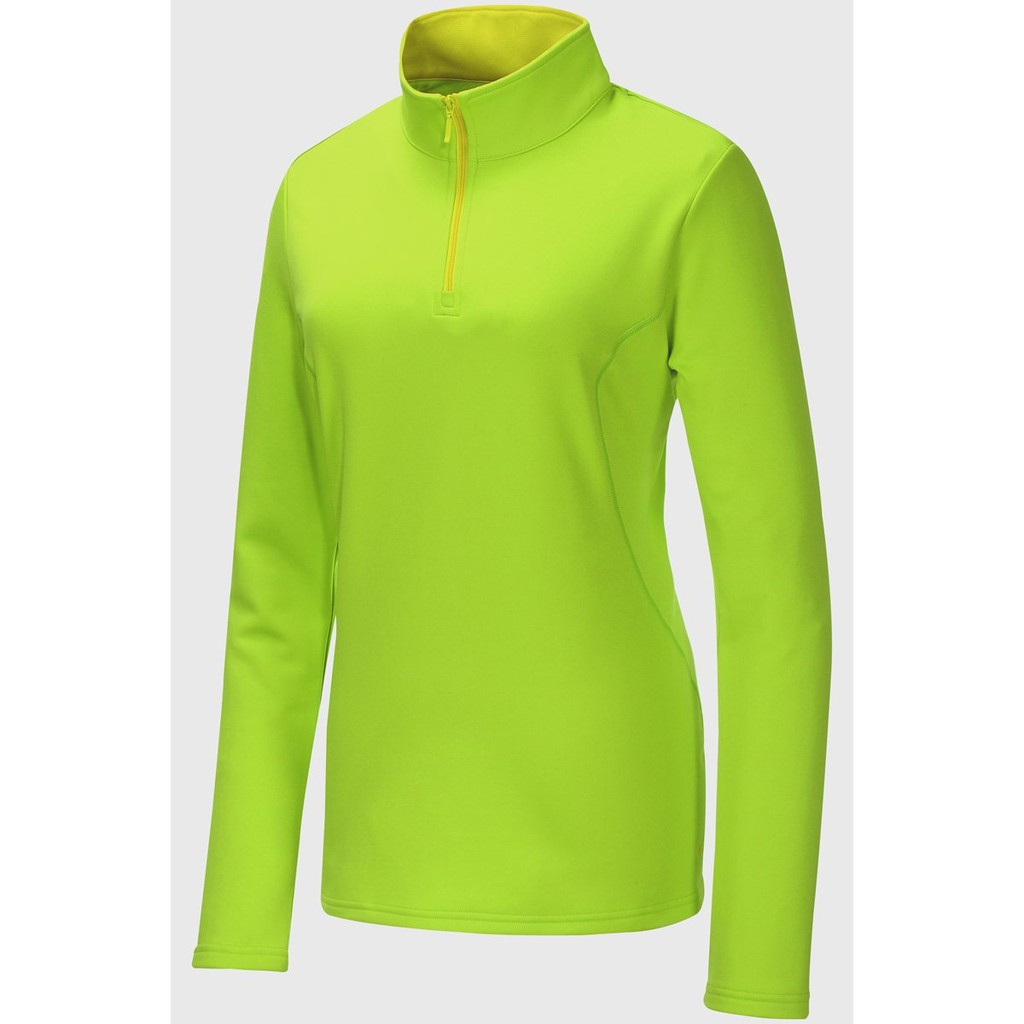 【Mountneer山林 】女彈性針織保暖上衣 22P08-59檸檬黃色 保暖衣/中層衣/ 吸濕排汗/過季款出清野雁戶外