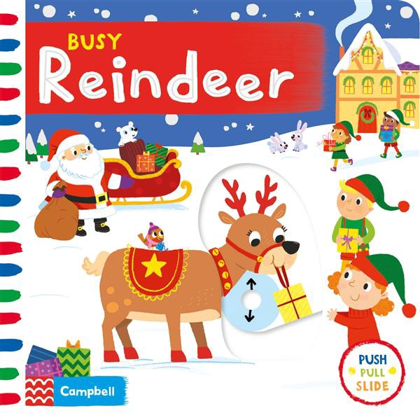 Busy Reindeer/Campbell Books eslite誠品