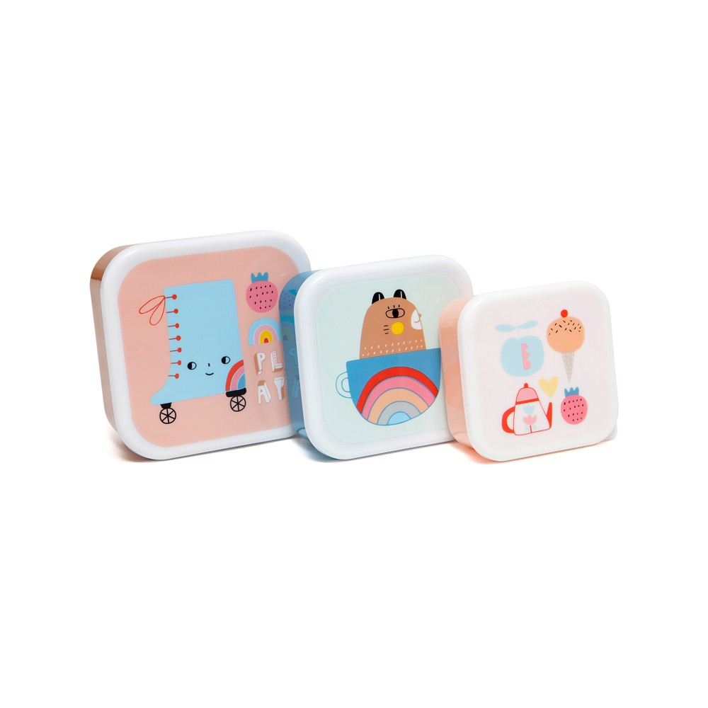 荷蘭Petit Monkey 零食盒3入組-我的寶貝