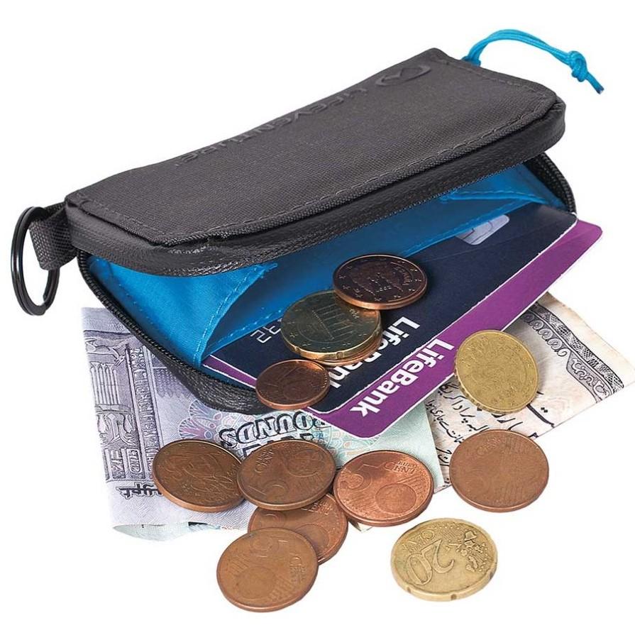 LIFEVENTURE RFiD Coin Wallet 零錢包 防掃描 防盜 出國旅遊 灰 68150 綠野山房