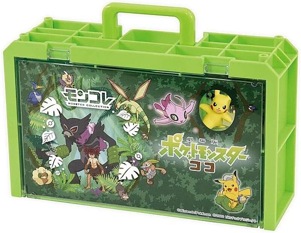 Pokemon GO 寶可夢劇場版-可可 場景收納盒_PC16635(內含公仔收納提盒及2隻神奇寶貝) 精靈寶可夢