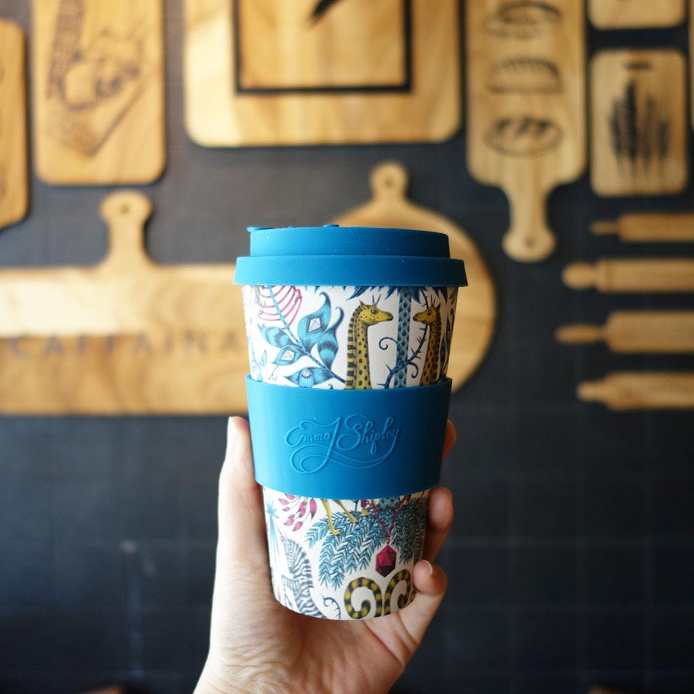 Ecoffee Cup|環保隨行杯14oz-藝術家聯名款(長頸鹿樂園)