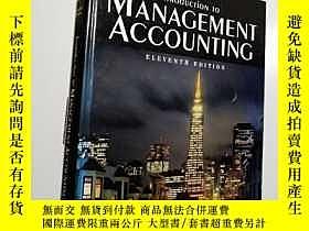 二手書博民逛書店【英文原版罕見精裝】Introduction to Manage