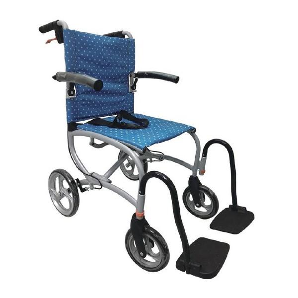 【海夫健康生活館】FZK 看護型 背包 輪椅(FZK-707)