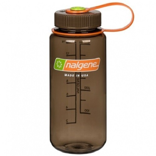NALGENE EVERYDAY 500 ML 寬嘴水壺 TRITAN BOTTLE 木柴色