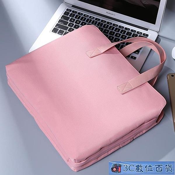 蘋果電腦包13.3寸air筆記本pro內膽包12女15手提16mac適用戴爾華為小新14聯想15.6英寸 3C數位百貨