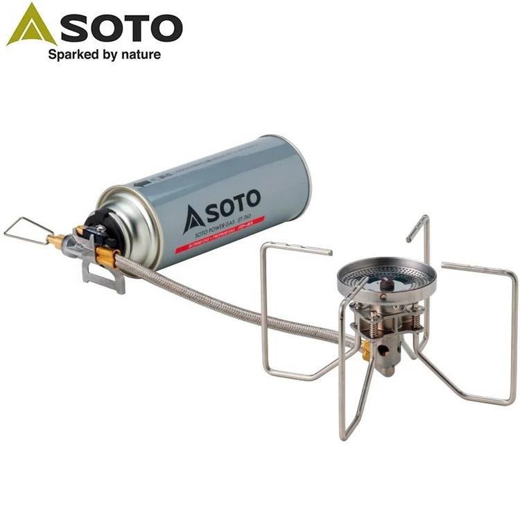 SOTO 穩壓防風休閒爐/蜘蛛爐/瓦斯爐 ST-330