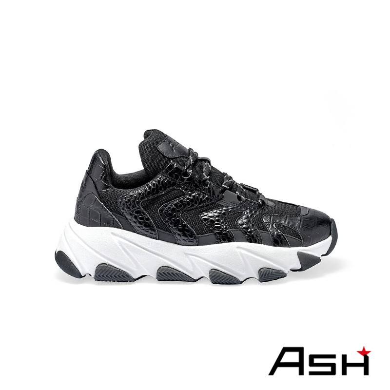 ASH EAGLE 時尚潮流增高老爹鞋 銀黑色