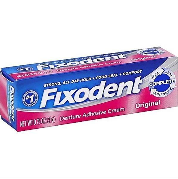 【彤彤小舖】代購 美國品牌 Fixodent 活動假牙黏著劑 68g 原味 美國原廠