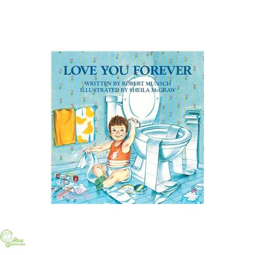 Love You Forever (平裝本) 廖彩杏老師推薦有聲書第2年第3週【禮筑外文書店】[73折]