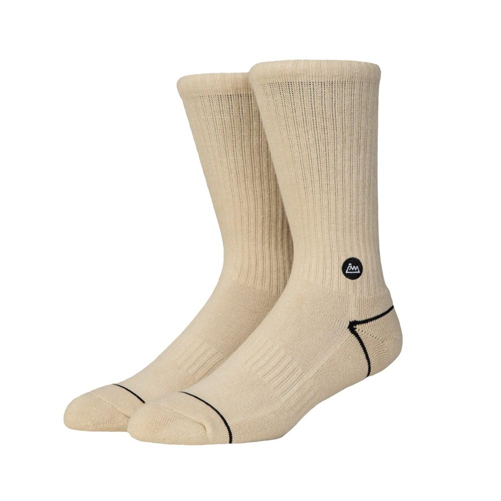 【FAAM】On Fleek 70 奶茶色- 中高筒運動休閒襪