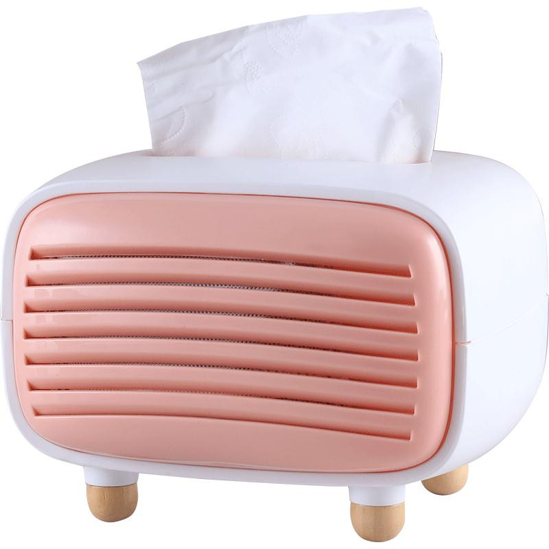 ins北歐家用紙巾盒簡約現代客廳餐巾抽紙盒創意餐廳茶幾裝飾擺件