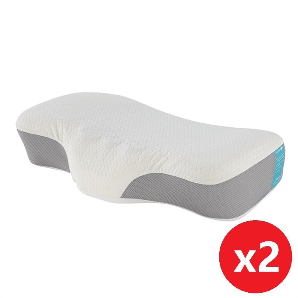 蜂巢凝膠天絲枕(2入)【雙效睡康枕】倍力舒