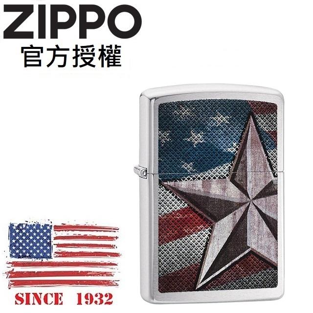 ZIPPO Retro Star 美國五角星旗防風打火機