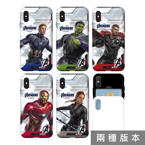 韓國 MARVEL 手機殼 雙層/推蓋卡夾│Note10