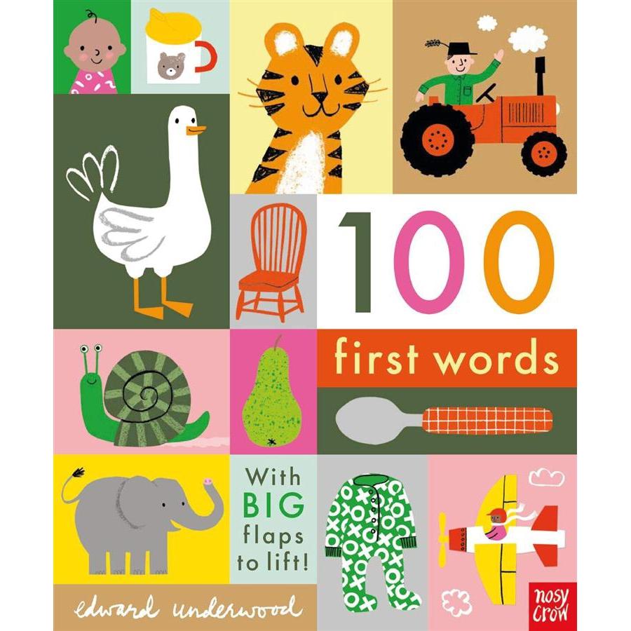 100 First Words /Edward Underwood 誠品eslite