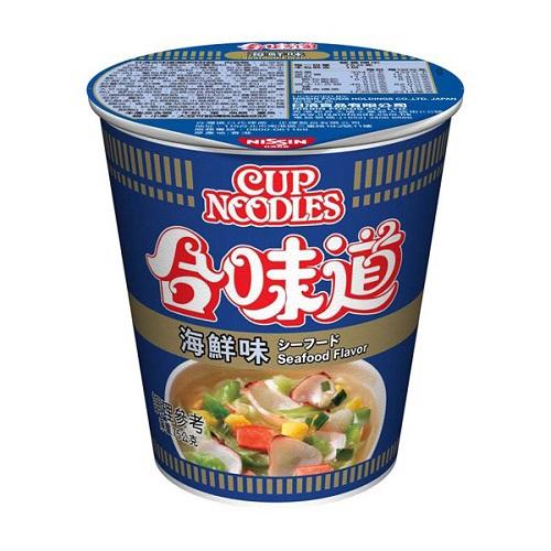 日清 合味道海鮮味杯麵(71g/杯)[大買家]
