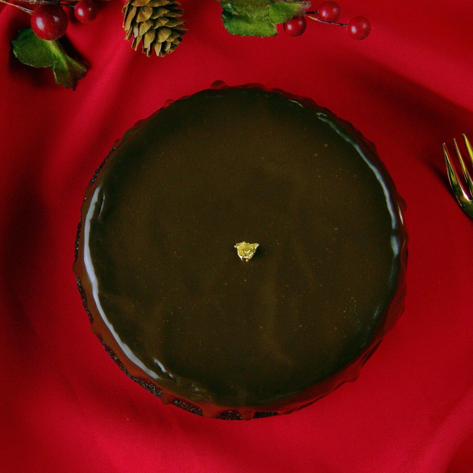【黑手甜點】6吋醇品生巧克力蛋糕/75%巧克力/入口即化的濕潤蛋糕體/經典款非嚐不可