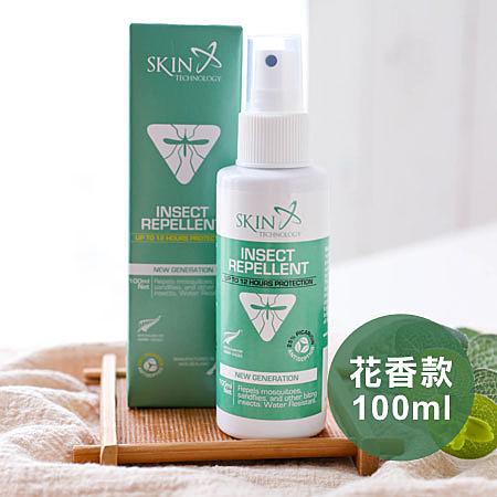 紐西蘭 Skin Technology 派卡瑞丁 25% 12H長效防蚊液噴霧 100ml 花香款 瑞斌 防蚊液 防蚊噴霧 公司貨