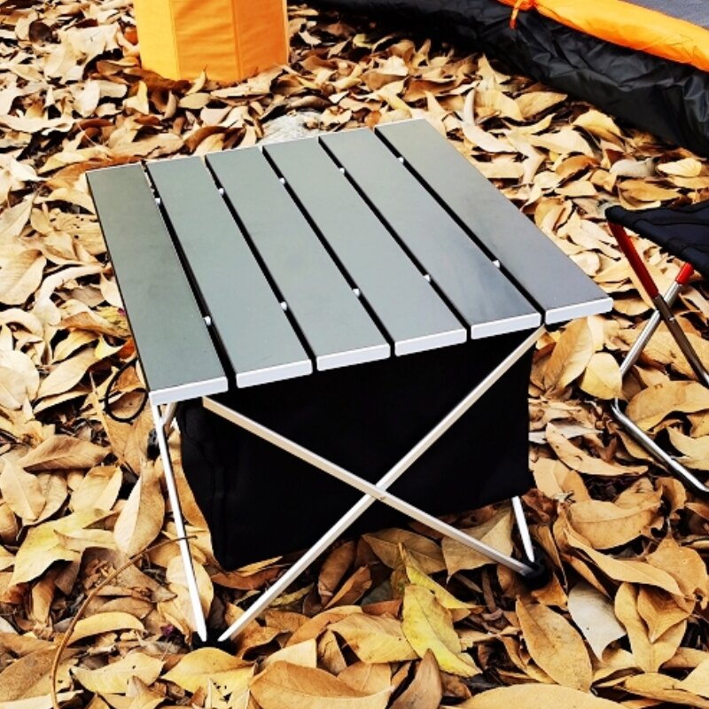 美麗大街 戶外折疊桌收納籃野餐桌附收納掛袋防水收納袋置物布櫃【109052012】