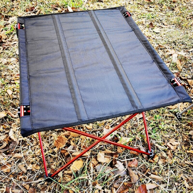 美麗大街 高CP值推薦 超輕便鋁合金摺疊桌(布桌面)(大號)【109052022】