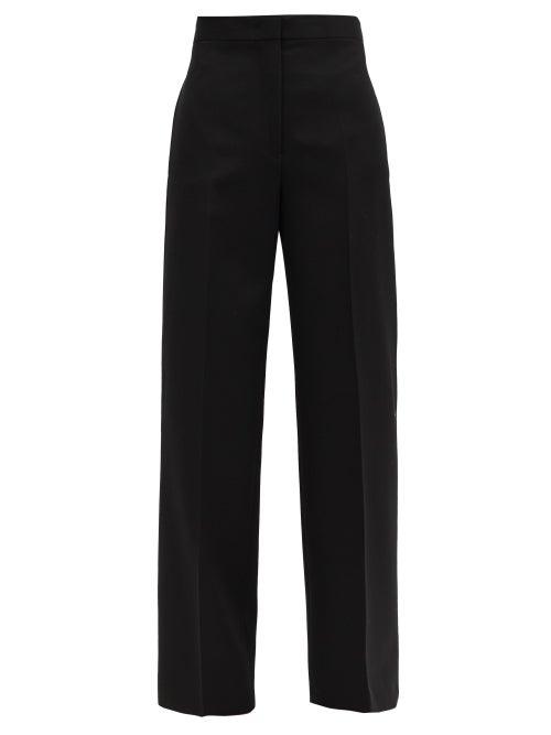 Jil Sander - Nicholas High-rise Wool Wide-leg Trousers - Womens - Black