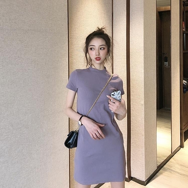 性感洋裝 2020新款法式性感仙女超仙森系顯瘦裙子氣質收腰洋裝女神範夏季 牛年新年全館免運