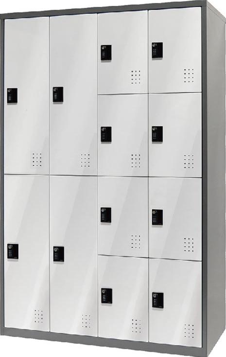 【樹德置物櫃系列】 - FC-M412 多功能密碼鎖置物櫃管理櫃 收納櫃 更衣櫃 文件櫃 鞋櫃 健身房 游泳池 大賣場