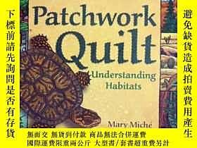 二手書博民逛書店英文原版罕見少兒繪本 Nature s Patchwork Qu
