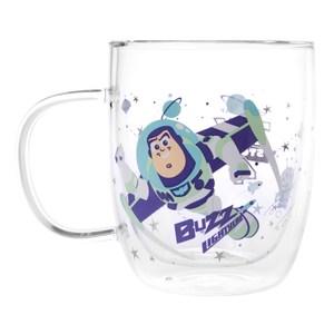 HOLA 迪士尼系列 Toy Story 雙層玻璃杯 巴斯光年 Buzz