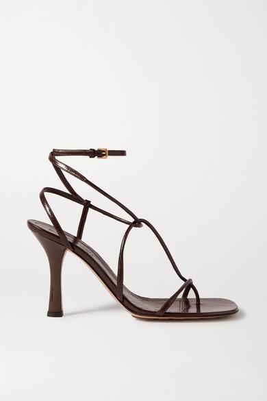 Bottega Veneta - 皮革凉鞋 - 棕色 - IT39.5