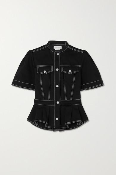 Alexander McQueen - 牛仔衬衫 - 黑色 - IT42