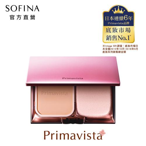 SOFINA 蘇菲娜 Prima 輕透裸膚長效粉餅 升級版 粉盒