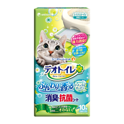 Unicharm Pet一周消臭尿墊天然香氛10片/包