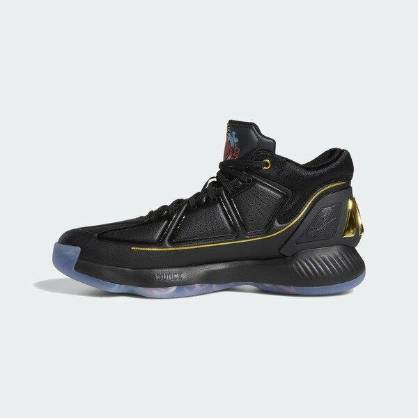 Adidas D Rose 10 [EH2110] 男鞋 運動 籃球 穩定 支撐 舒適 避震 輕盈 玫瑰 愛迪達 黑彩