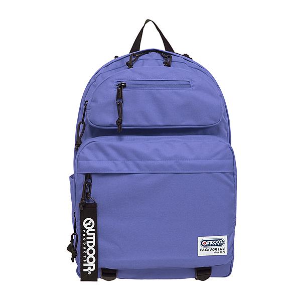 【OUTDOOR】繽紛原色-14吋筆電後背包-淺紫色 OD201104LPL