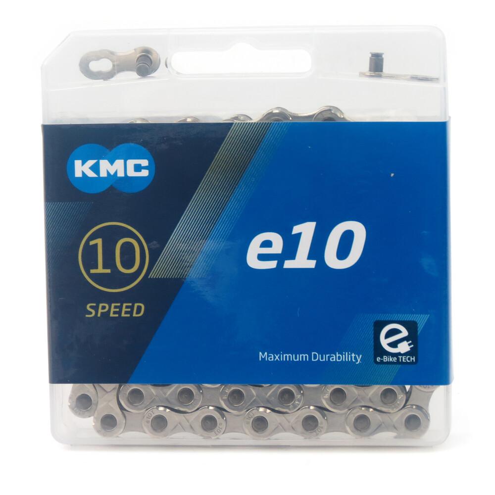 速度公園kmc e10 turbo ebike系列 電動自行車鏈條10速銀色136目 附快扣