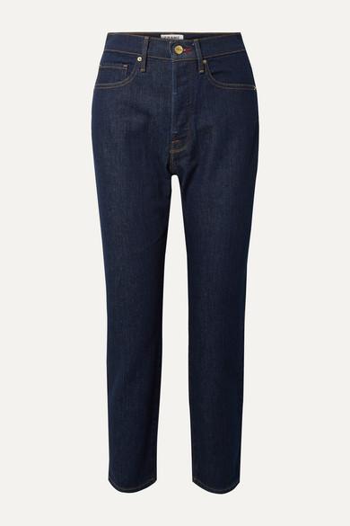 FRAME - Le Original 高腰直筒牛仔裤 - 蓝色 - 29