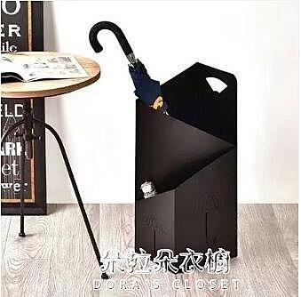 雨傘架 創意雨傘架酒店大堂家用鐵藝傘筒雨傘桶收納桶落地放傘架子 【母親節特惠】