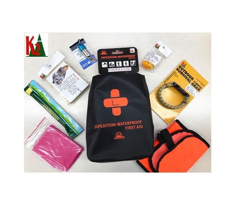 登山屋(K2)多功能緊急求生袋組/緊急救難包 K2-0263
