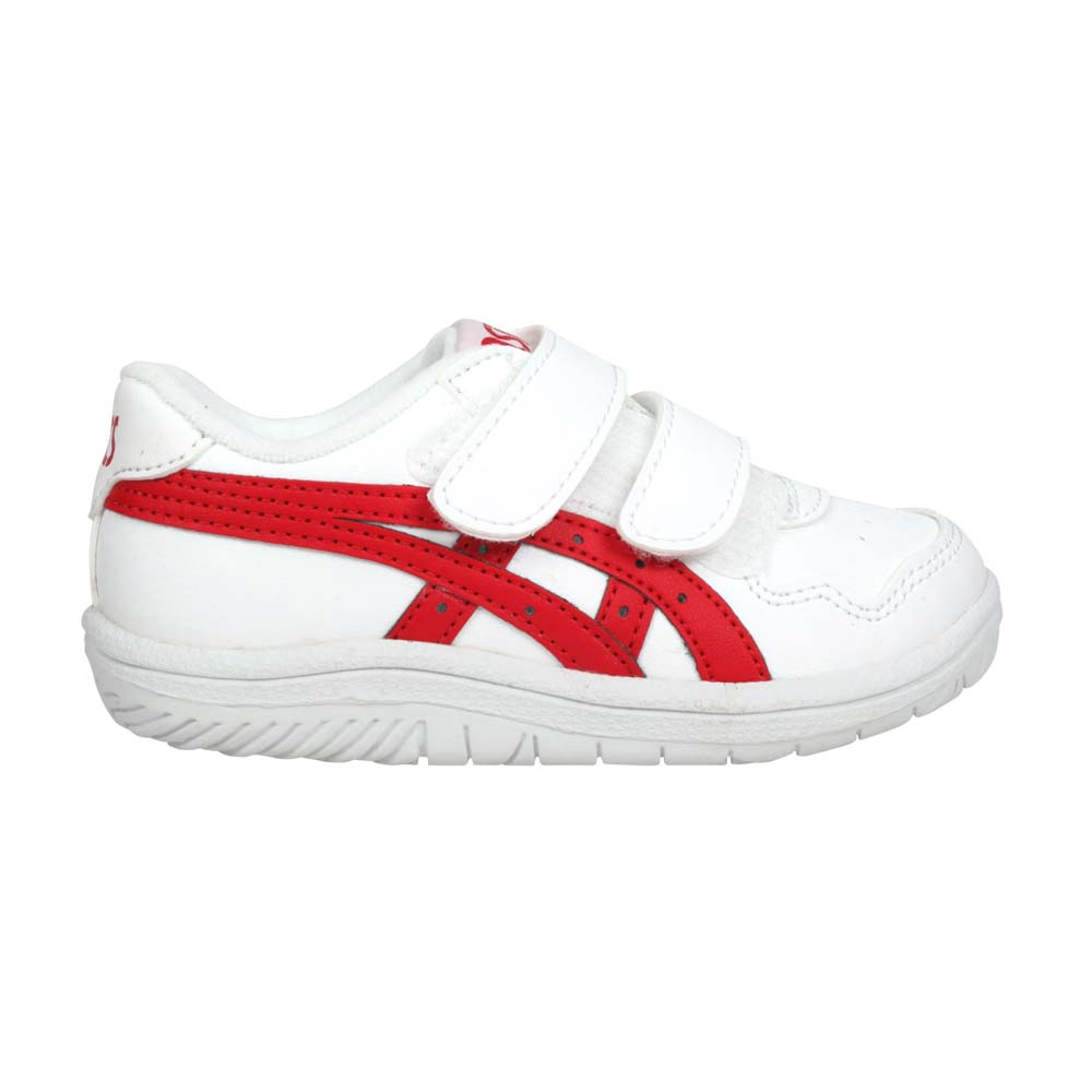 ASICS JAPAN S TS 男女小童休閒運動鞋-慢跑 亞瑟士 復古 童鞋 白紅