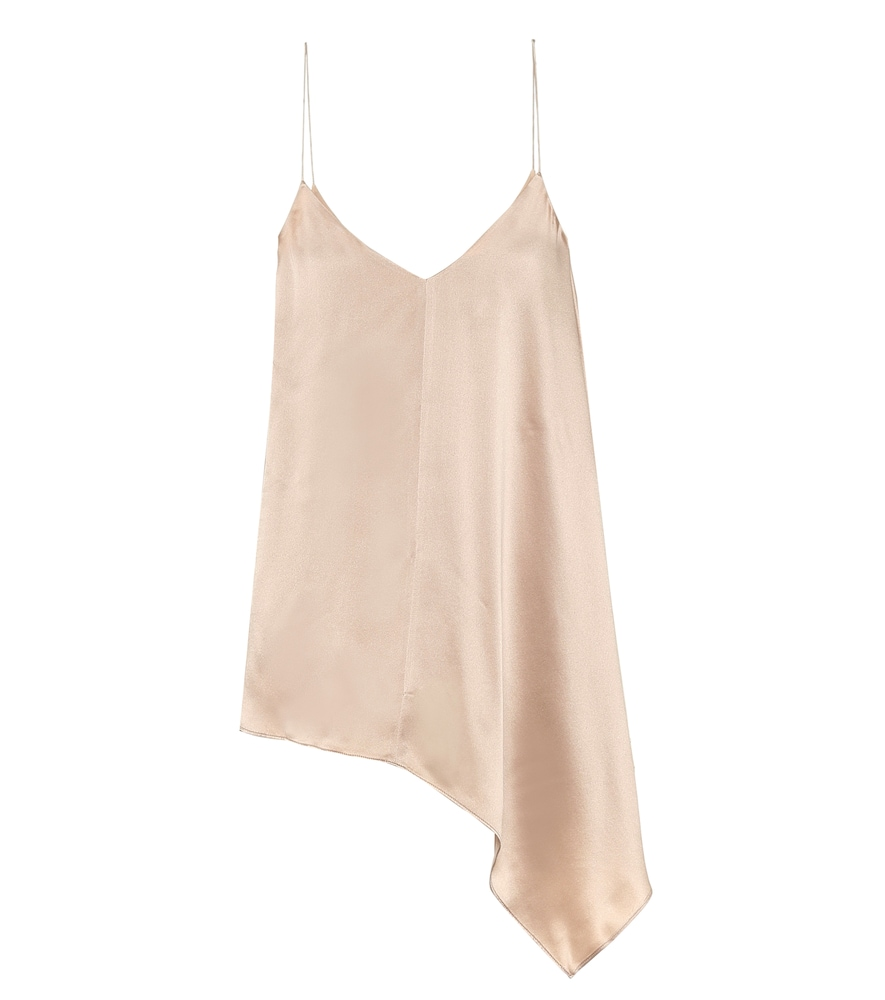 Biddy silk-satin camisole