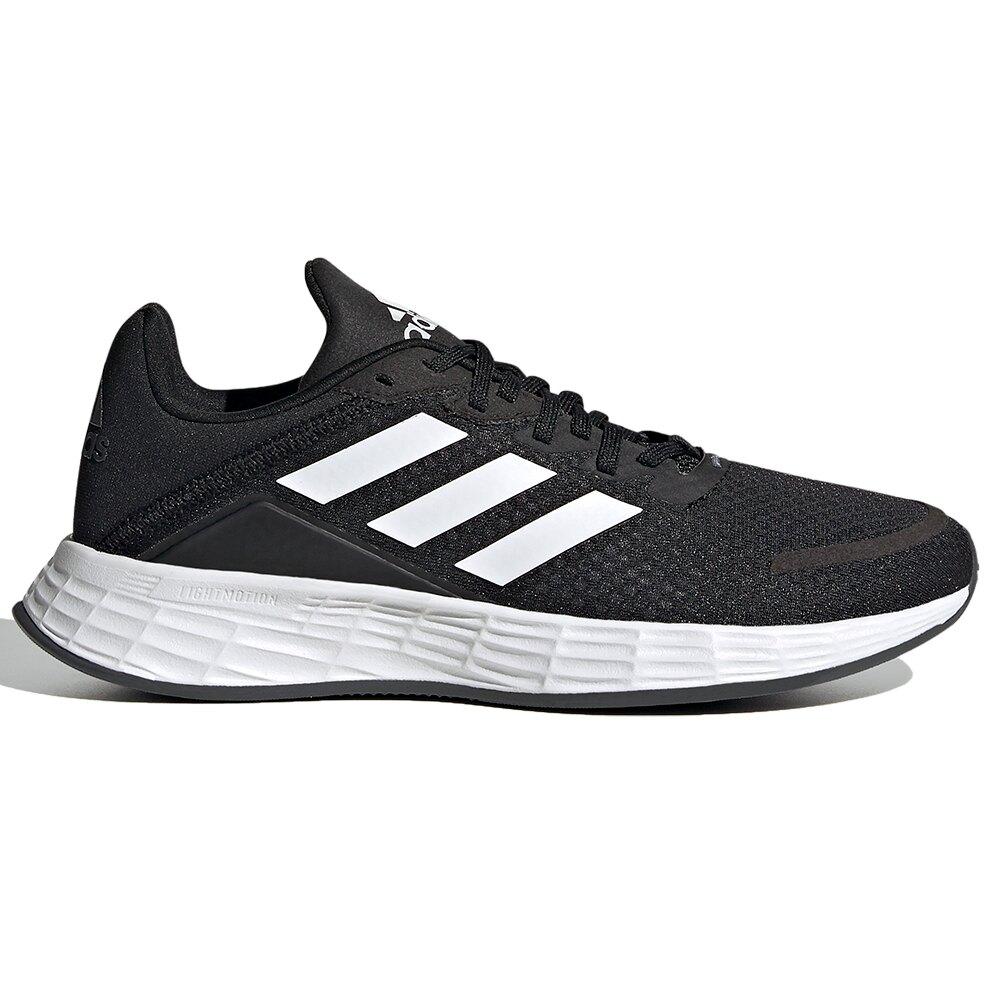【領券最高折$400】【現貨】Adidas DURAMO SL 女鞋 大童 慢跑 休閒 柔軟 緩震 黑【運動世界】FX7307