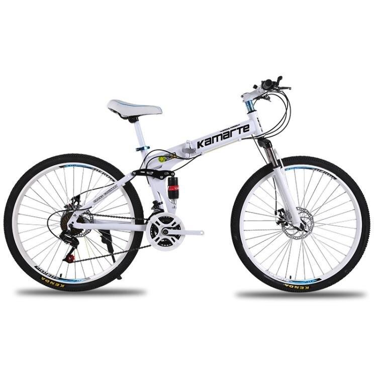腳踏車 24速 26/24寸折疊山地自行車26寸成人變速學生單車 概念3C
